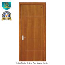 Современный стиль твердая составная деревянная дверь (ДС-087)