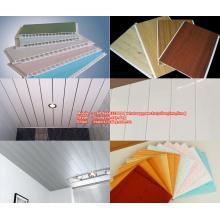Простая установка потолочной панели из пвх из строительного материала с современным дизайном и технологиями