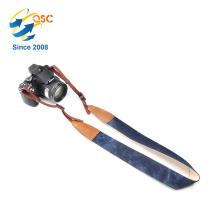 Hersteller benutzerdefinierte Mode Schulter blau benutzerdefinierte Kamera Strap endet