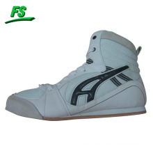 white custom boxing shoes new