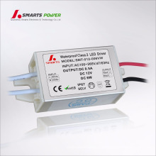 100 / 265vac fuente de alimentación constante impermeable del voltaje 12v 6w LED conductor