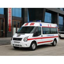 Ambulância de transporte de emergência de engrenagem manual com motor diesel