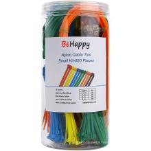 Multi-Purpose Self-Locking Cable Tie Wire Wraps
