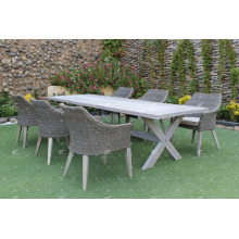 Luxurious Design Dining Set For Outdoor Garden