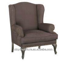 Французский стиль мебели современный диван-стул XF1023