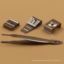 Good capable factory fabrication metal parts custom aluminum u clips