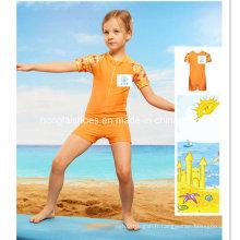 Orange Little Girls Maillot de bain pour enfants