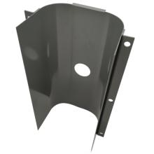 One-way cambered sheet metal parts