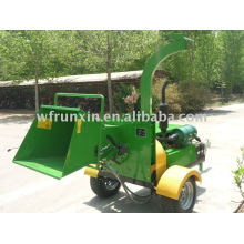 CE diesel wood chipper with hydraulic feeding system(CE,ISO)