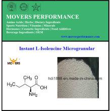 Top Venta caliente Instant L-Isoleucine Microgranular