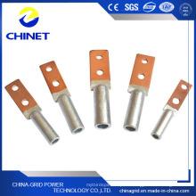 Dtl2 Typ Vierkantkopf Doppelloch Bimetall Kabelschuhe