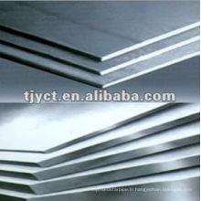 Q235 H / R tôle d'acier