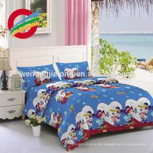 100% Baumwolle billiges Hotelgebrauchsweiß Satin-Streifen-Gewebe / Baumwollbettwäsche-Tuch Großhandelslieferant 100% weißer Baumwollsatinstreifen