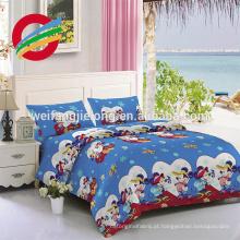 100% algodão hotel barato uso branco Stripe Satin Stripe / pano de cama de algodão Atacado fornecedor 100% algodão branco stripe cetim