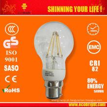 Produto novo! 6W clara filamento de LED bulbo E27 CE ROHS qualidade