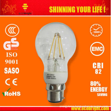 New Product!6W Clear LED Filament Bulb E27 CE ROHS QUALITY