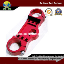 CNC Machining Motorcycle Accessories Aluminum Upper Triple Clamps