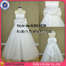 Real romantic cheap dress white layered tulle skirt wedding gowns
