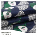 China Designer soft jacquard fabric 50% cotton 50% polyester