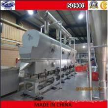 Máquina de secagem de leito fluidizado vibrante de bactérias