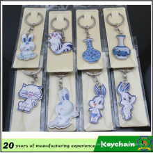 Custom Carton Made Keychains/Cheap Advertising Keychains