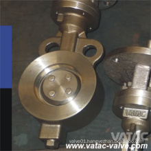 Cast Steel A216 Wcb Wafer High Performance Butterfly Valve
