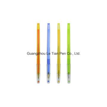 Cute Plastic Gel Pen with Cap Factory Manufacturer Lt-L450