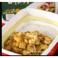 Riso auto-riscaldante di pollo al curry fast food