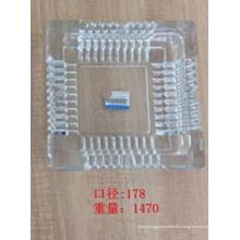 Glas Aschenbecher mit gutem Preis Kb-Hn07688