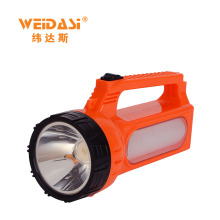 Good quality portable rechargeable led handheld waterproof searchlight for daily use