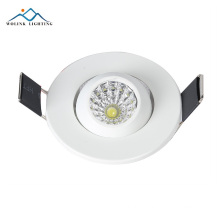 PLC Plaster Ceiling Design Plastic Retrofit Black Box LED Recessed Downlight
