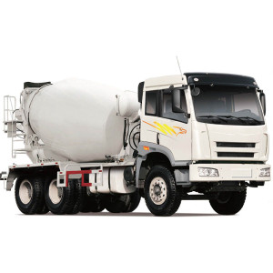 Self Loading Ready Mix Concrete Mixer Truck
