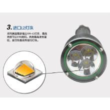 Aluminium führte Taschenlampe Notfall Hammer Großhandel LED Taschenlampe XM-L2 cree Jagd Polizei