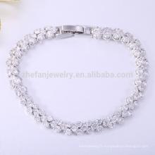 Fabricants de bijoux en argent en bracelet en pierre de Thaïlande
