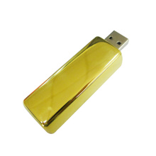 China Gold Supplier for Metal Usb Flash Drive Metal Gold Bars USB Flash Drive with Logo supply to Cook Islands Factories