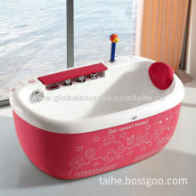Lovely Baby Bathtub, Ducky Hand Shower, Gentle Air Bubble and Soft Jacuzzi