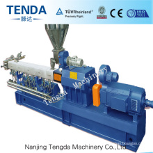 Tsh-65 Tenda Parallel Co-Rotating Twin Screw Plastic Extruder