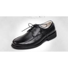 Venda quente mais barato por atacado últimas sapatos de couro puro para homens 2015