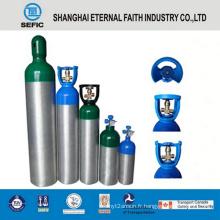 Cylindre médical d'oxygène de différentes tailles de 2014 pression (LWH180-10-15)