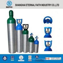 2014 High Pressure Different Sizes Medical Oxygen Cylinder (LWH180-10-15)