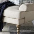 Sofá cómodo de la parte posterior del sofá de los muebles del durmiente de la parte posterior de la parte posterior