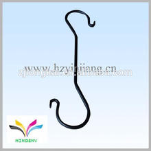 Metal wire S shape double sides shopping hanging display hook