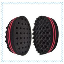 Top-nos! Esponja mágica Twist/Magic Twist esponja escova/Afro Curl esponja