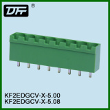 Plug-in Terminal Block (KF2EDGCV-X) for PCB 5.00mm. 5.08mm. 7.50mm. 7.62mm