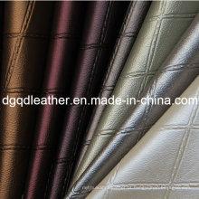 Moda colorida couro estofando mobiliário decoração (qdl-51380)