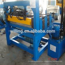Máquina de corte para bobina de acero