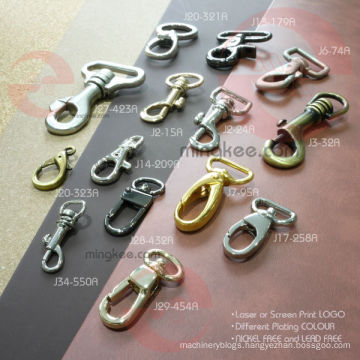 OEM Bag Metal Accessories Parts of Dog Swivel Snap Hook