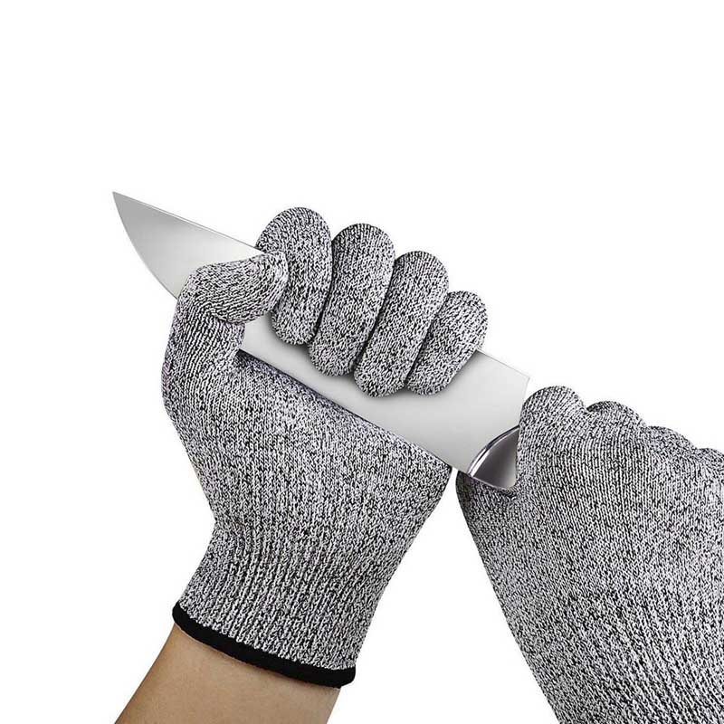 Safety cut resistant HPPE Glove