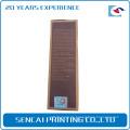 China Hersteller billig benutzerdefinierte Man Kosmetikpapier Verpackung Farbfeld