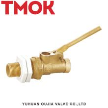 brass hut off water tank penumatic float valve